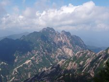 The Scenery Of Huangshan In China Royalty Free Stock Photography