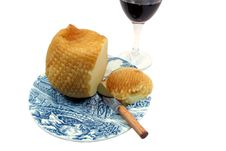 Free Cheese And Wine Royalty Free Stock Images - 1300519