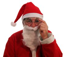 Free Santa Listening Royalty Free Stock Photography - 1300847