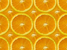 Free Orange Slice Royalty Free Stock Photography - 1300947