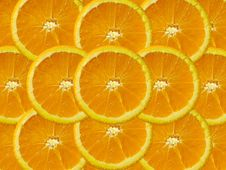 Free Orange Slice Royalty Free Stock Photos - 1300948