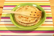 Free Pancakes Stock Image - 1300991