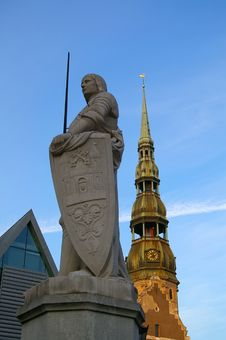 Free Statue Of Roland Royalty Free Stock Photography - 1301547