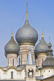 Free Cupola Of Russian Church Stock Image - 1301571