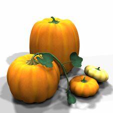 Free Pumpkins 2 Stock Images - 1301884
