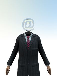 Free Email Head 9 Stock Photo - 1301940