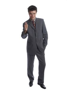 Free Business Man (the Series) Stock Photos - 1302883