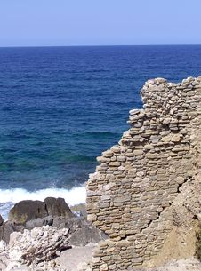 Free Ancient Castle Walls Stock Photos - 1303093
