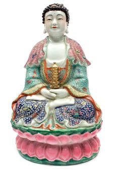 Free Colorful Buddha Royalty Free Stock Photos - 1303188