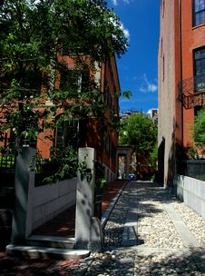 Free Beacon Hill Royalty Free Stock Image - 1303266