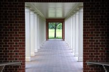 Free Picture Perfect Walkway. Stock Images - 1303544