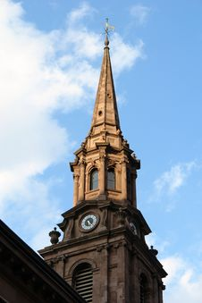 Free Clock Tower Steeple Royalty Free Stock Photo - 1304125