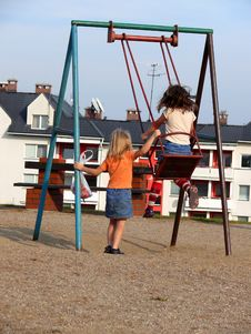 Free Swinging Time Stock Photos - 1304593