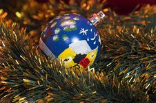 Free Tree Christmas Decoration Royalty Free Stock Photos - 1304688