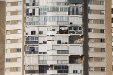 Residential Tower Block Stock Photo