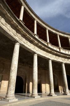 Free Palacio De Carlos Royalty Free Stock Photos - 1305918