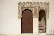 Free Doorway And Islamic Detail Stock Image - 1306161