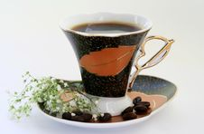 Free A Cup Of Coffee Royalty Free Stock Image - 1306306