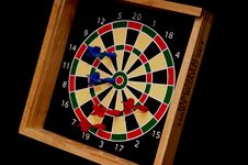 Free Kid S Magnetic Dart Board Stock Photo - 1306900