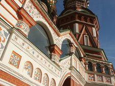 Free Vasily Blazhennogo S Temple Royalty Free Stock Photography - 1306997