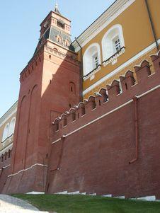 Free Kremlin Wall Stock Photography - 1307212