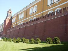 Free Kremlin Wall Royalty Free Stock Photos - 1307218