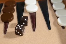 Free Backgammon 1 Stock Photos - 1307553