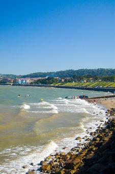 Free Seashore At Rhos-on-sea Stock Photos - 1307783