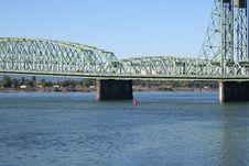 Free Bridge Over Columbia River Royalty Free Stock Photos - 1308408
