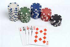 Free Poker Royalty Free Stock Image - 1308676