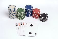 Free Poker Royalty Free Stock Photo - 1308685