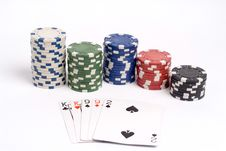 Free Poker Royalty Free Stock Photos - 1308698