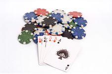 Free Poker Royalty Free Stock Image - 1308746