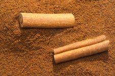 Free Cinnamon And Coffee Stock Photo - 1308880