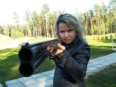 Free Dangerious Woman Stock Photo - 1309700