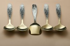Free Spoons Royalty Free Stock Image - 13013566
