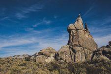 Free Brown Stone Mountain Stock Photography - 130178632