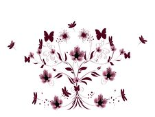 Free Cherry Blossom Background Royalty Free Stock Photography - 13024527