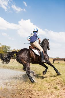 Free Person Horseback Riding Outdoors Royalty Free Stock Images - 130289199