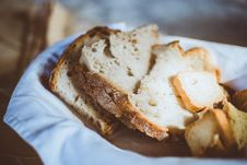 Free Close-up Of Bread Stock Photography - 130423452