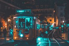 Free Photo Of People Riding On City Tram Royalty Free Stock Photography - 130423657