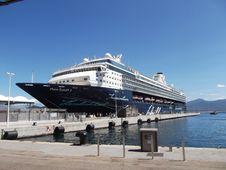 Free Passenger Ship, Cruise Ship, Water Transportation, Ship Royalty Free Stock Photos - 130472028