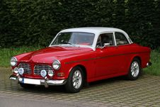 Free Car, Volvo Amazon, Motor Vehicle, Classic Car Royalty Free Stock Photos - 130472098