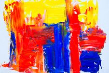Free Photo Of Colorful Abstract Painting Stock Images - 130492334