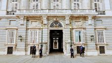 Free Guards Standing Near Building Stock Photos - 130492433