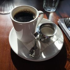 Free Coffee, Coffee Cup, Tableware, Espresso Royalty Free Stock Images - 130563039