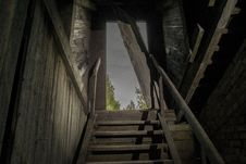 Free Structure, Stairs, Darkness, Wood Stock Photo - 130563180