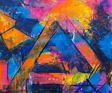Free Photo Of Abstract Painting Royalty Free Stock Photo - 130575395