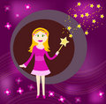 Free Fairy Card Design Stock Photos - 13069243