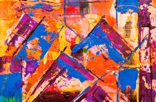 Free Photo Of Abstract Painting Royalty Free Stock Photos - 130644718